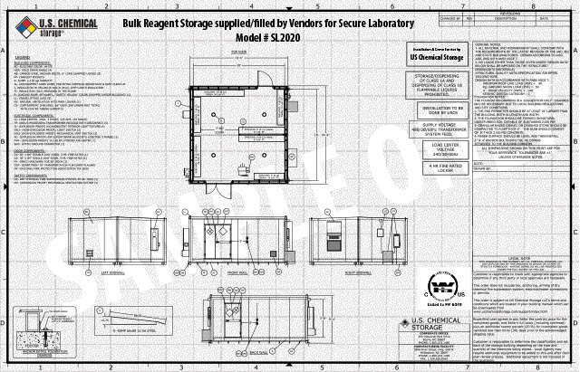 Bulk Reagent Storage US Chemical Storage SL2020