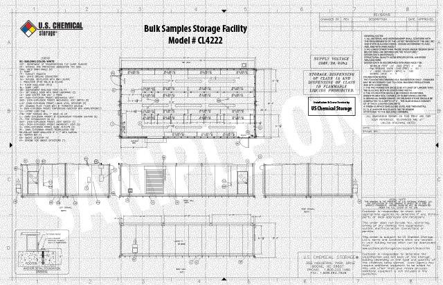 Bulk Samples Storage Facility US Chemical Storage CL4222