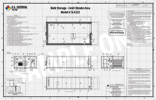Bulk Storage Cold Climate Area US Chemical Storage SL4222