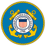 USChemicalStorage provides chemical storage services for coast guard [logo].