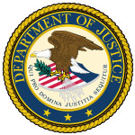 USChemicalStorage provides chemical storage services for dept of justice [logo].