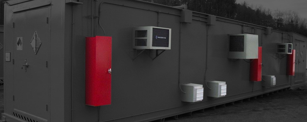 Accessories for Chemical Storage Buildings