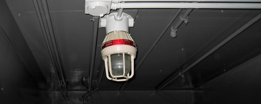 Explosion proof lighting accessory