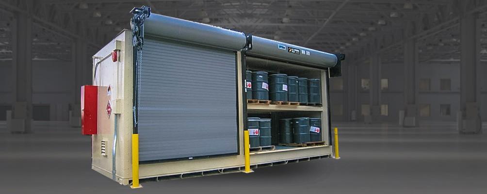 Двуярусный контейнер для хранения горючих жидкостей ГСМ IBC танков