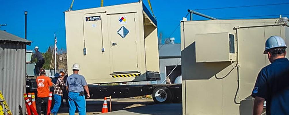 Portable Hazmat Storage Buildings : Duplex chemical storage buildings us