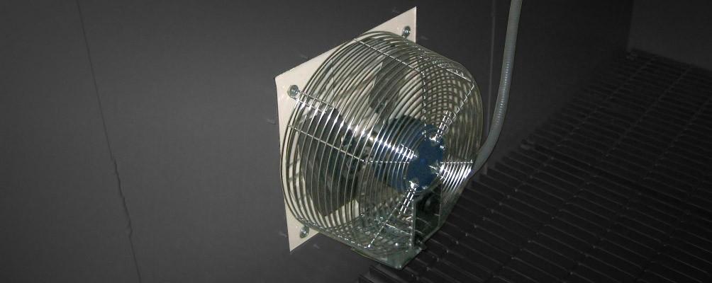 Storage Room Ventilation : Mechanical ventilation us chemical storage