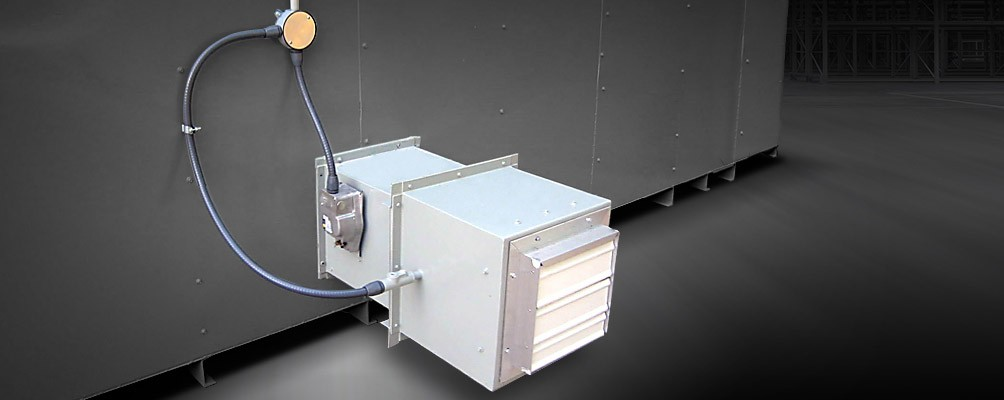 Explosion Proof Ventilation System with Fire Louvers