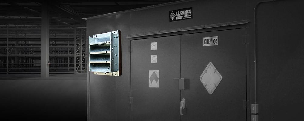 Mechanical Ventilation Us Chemical Storage