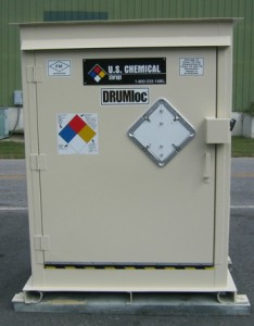 Drum storage solutions by U.S. Chemical Storage
