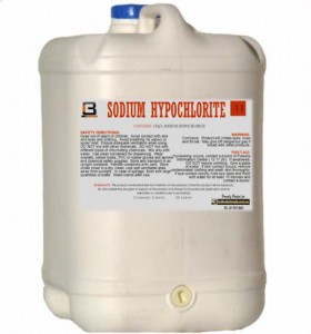Hypochlorite Bleach Storage Solutions