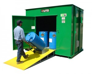 Compliant Pesticide Storage