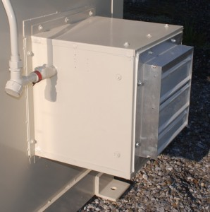 Mechanical Ventilation for chemical storage