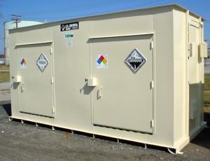 Corrosive Ammonia Storage