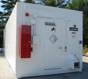 Hazardous Chemical Storage Building by U.S. Chemical Storage