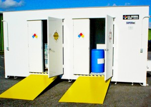 flammable chemical storage lockers