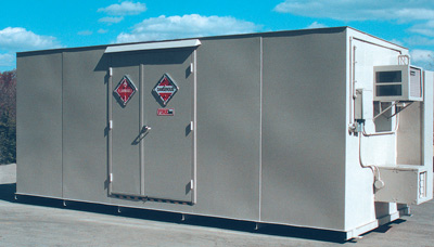 Hazmat Storage Containers Flammables