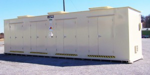 Transfer Locker for flammable materials storage