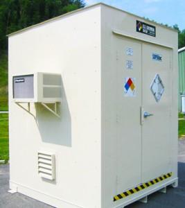 hydrogen cylinder storage