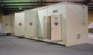 hazardous liquid storage locker safety