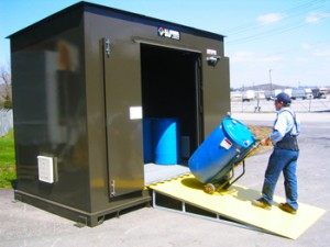 compliant pesticide storage facilities