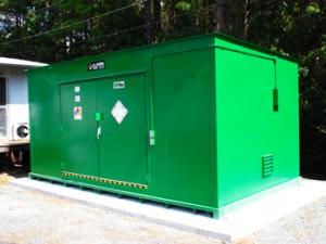 pesticide storage units