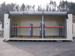 compliant chemical storage locker