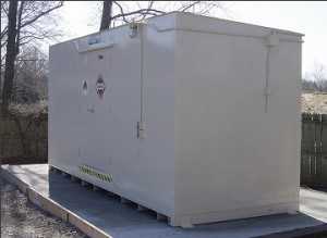 compliant combustible chemical storage