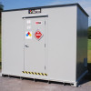 combustible storage buildings