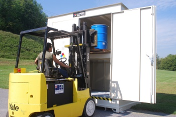 Drum Storage Container Secondary Containment Regulations