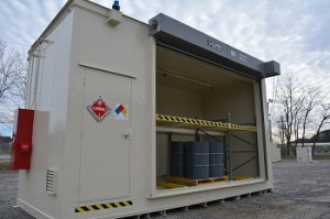hazmat storage locker