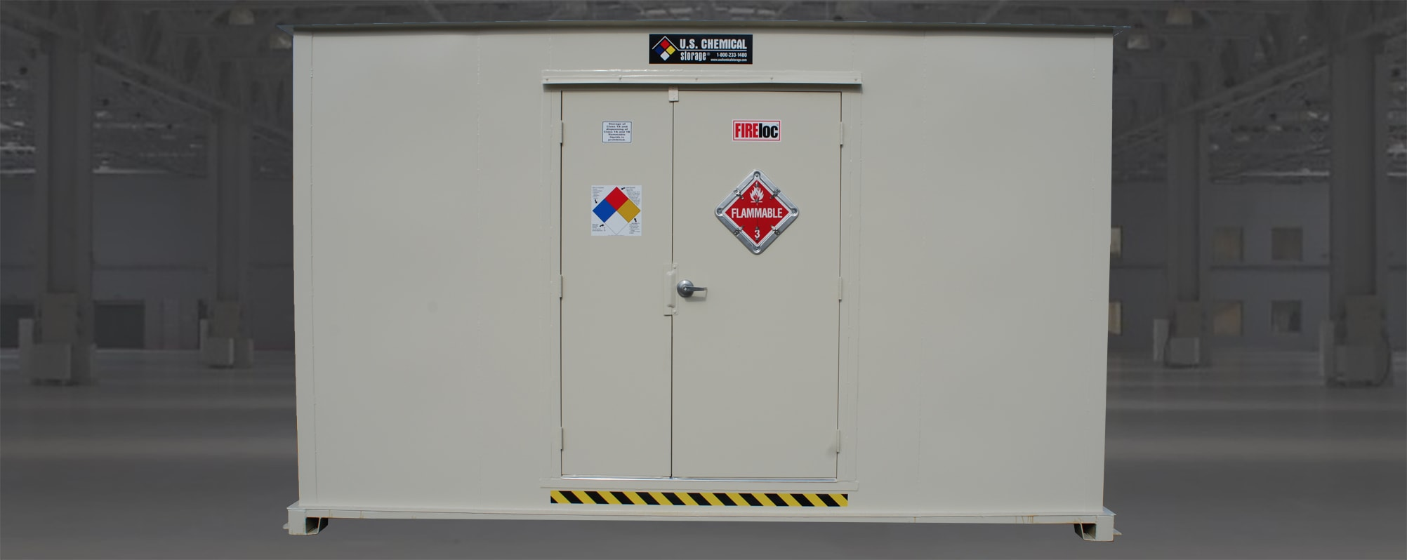 Flammable Liquid Storage Building
