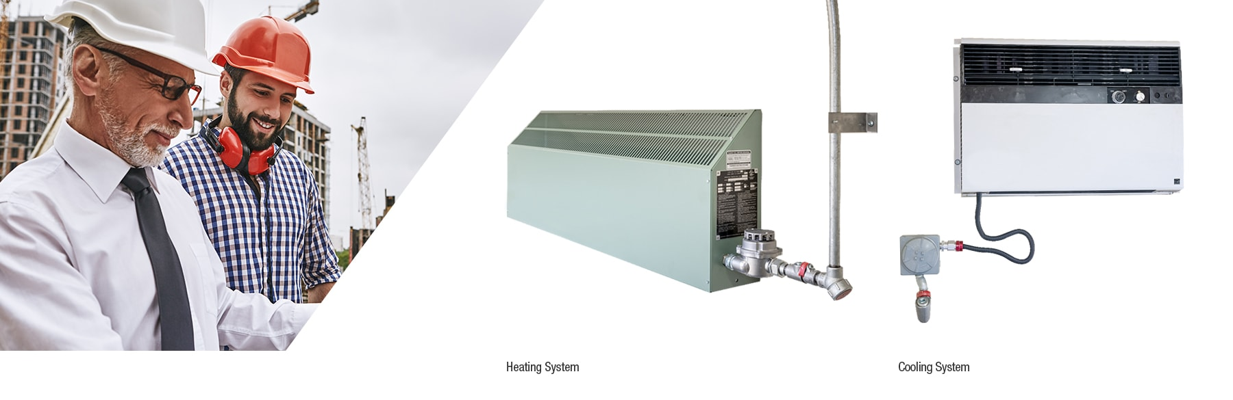 Heating and cooling system for chemical storage units