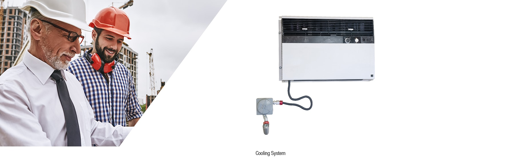 Cooling system for chemical storage units