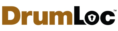 DrumLoc chemical drum storage logo
