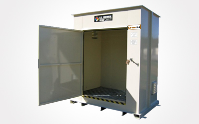 DrumLoc™ Chemical Drum Storage Buildings