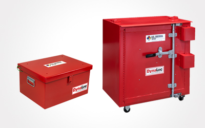 Explosive magazine storage unit for chemicals