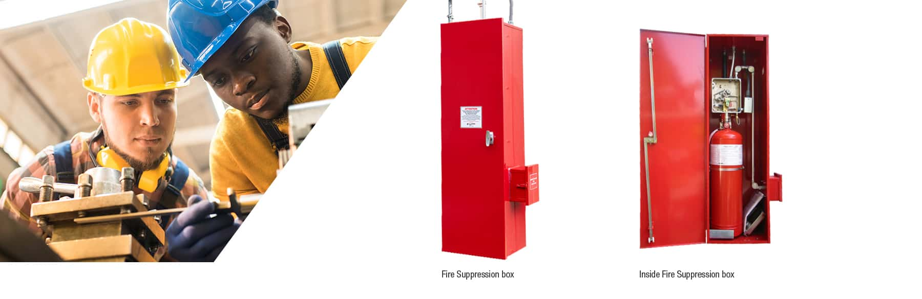 chemical storage fire suppression