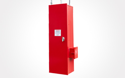 chemical storage fire suppression system