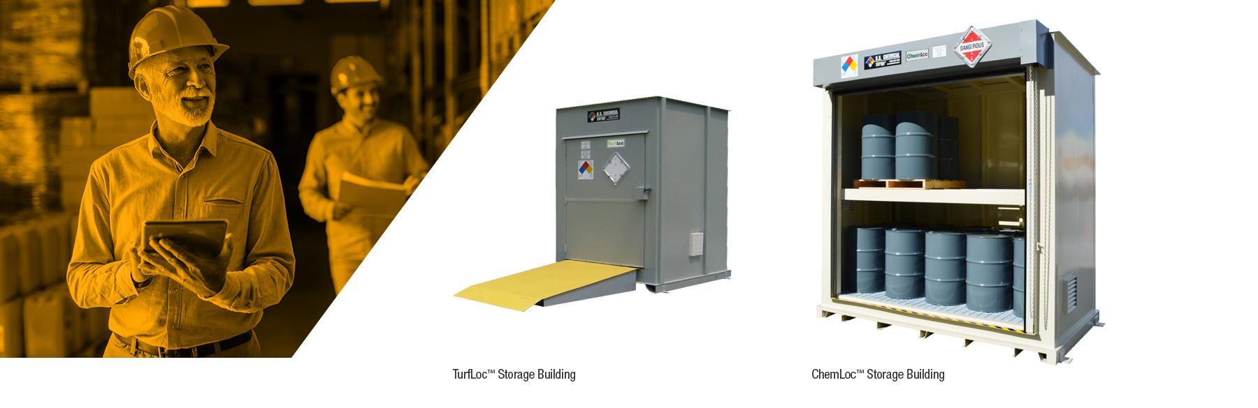 U.S. Chemical Storage hazardous storage buildings