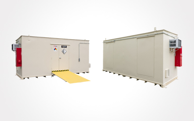 chemical storage building outdoor accessories