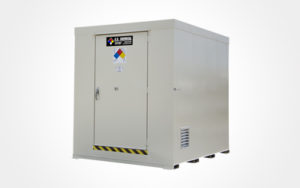 A U.S. Chemical Storage hazmat locker