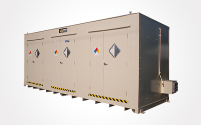 SuperLoc chemical storage unit