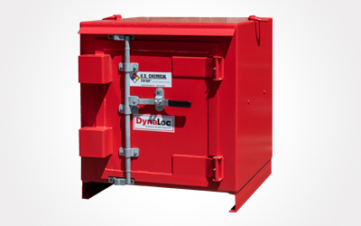 type 2 outdoor magazine storage unit from U.S. Chemical Storage