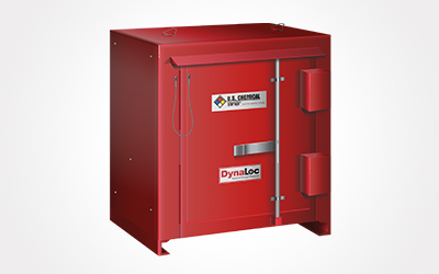 Storage unit for hazardous materials