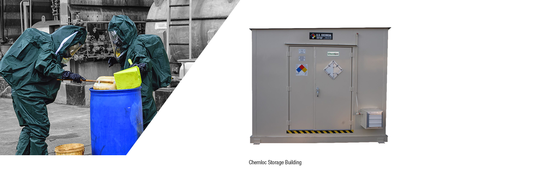 hazardous material storage buildings from u.s. chemical storage