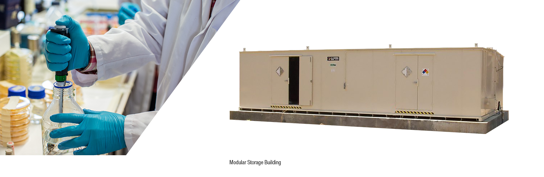 A general modular chemical storage building from U.S. Chemical Storage.