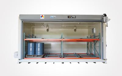 U.S. Chemical Storage general pallet storage building.