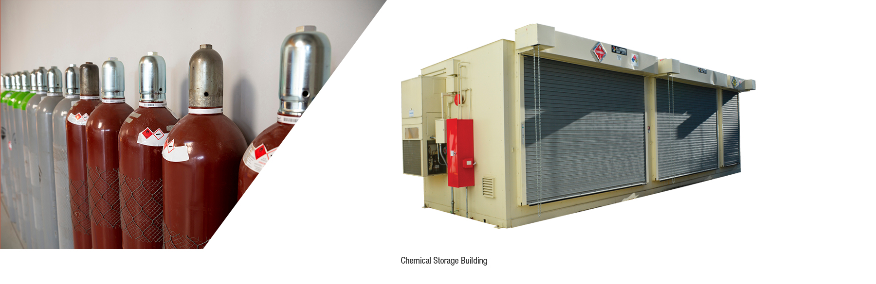 specialized chemical storage buildings