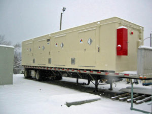 chemical storage buildings for cold climates