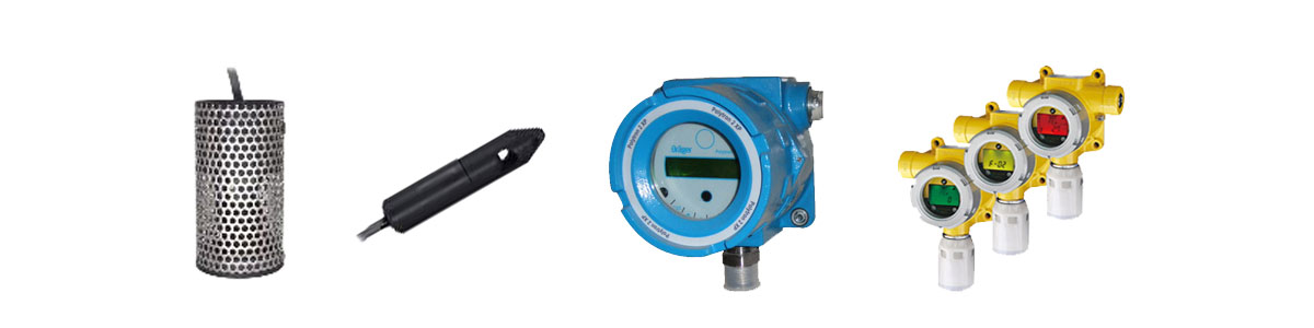 A variety of liquid and gas sensors to be used in US Chemical Storage Buildings